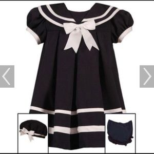NWT Rare Editions Sailor Dress